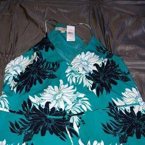NWT Ann Taylor Loft Long Maxi Dress